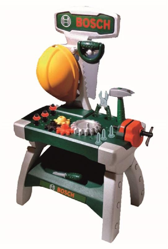 Klein Bosch Werkbank Junior Kinderwerkzeuge Spielwaren Spielzeug Fanartikel Bornmann Technik Shop